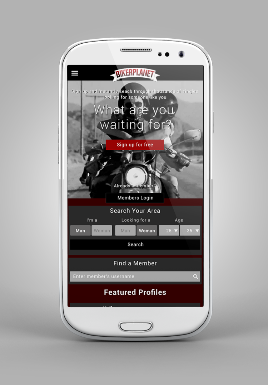 Biker Planet Mobile App
